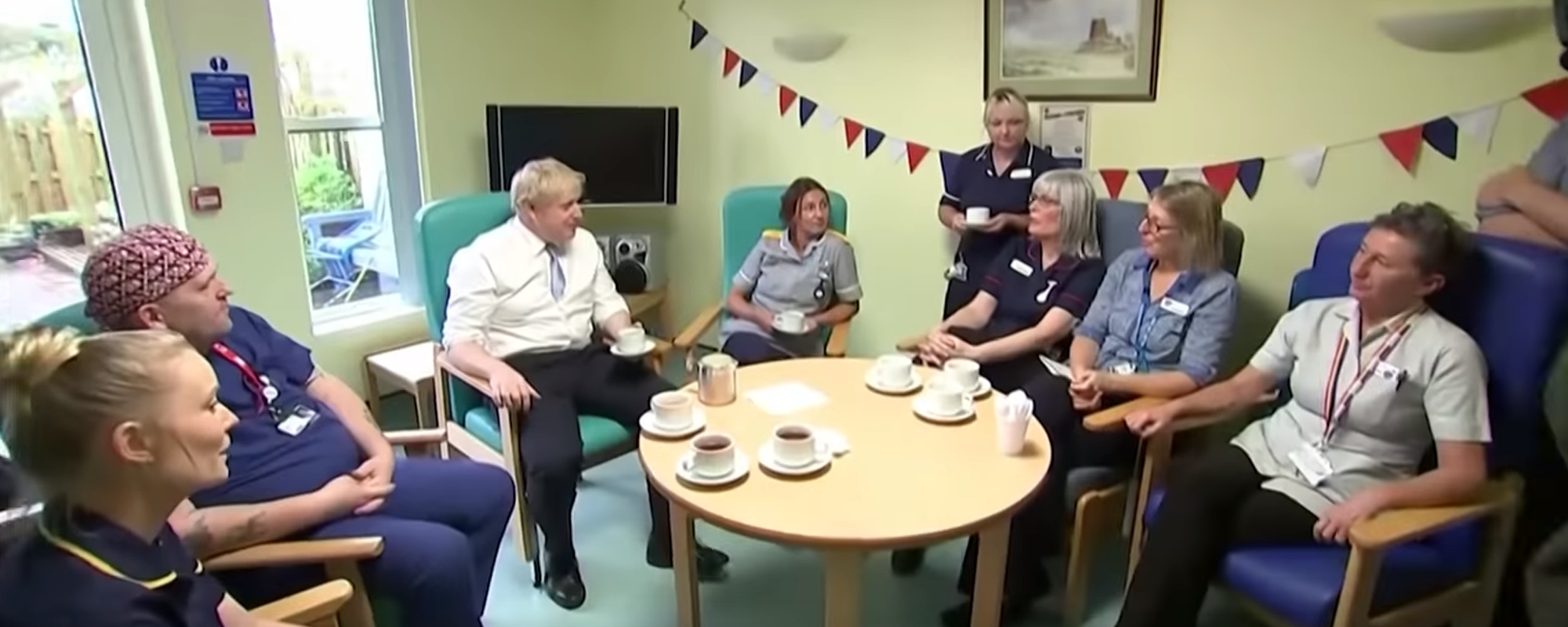 Boris Johnson challenged by nurses over NHS pledges